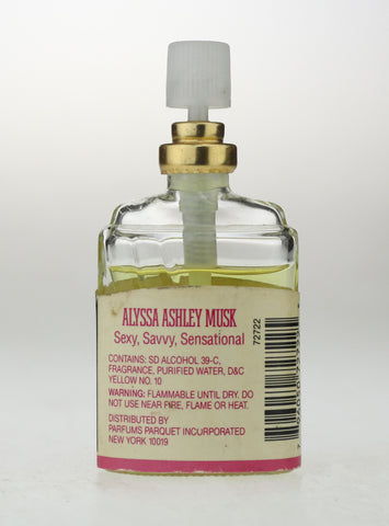 Alyssa Ashley Musk Spray Mist 0.5oz/15ml Unboxed 90% Low Fill No Cap