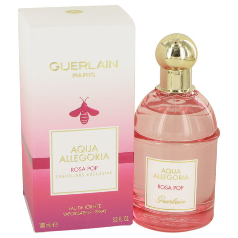 Aqua Allegoria Rosa Pop By Guerlain Eau De Toilette Spray 3.3 Oz 3.3 oz