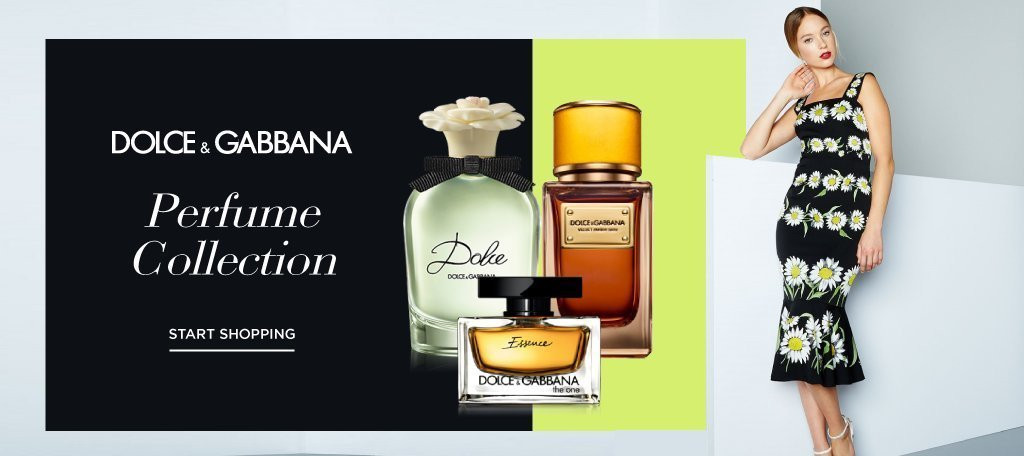 Dolce & Gabbana Perfume Collection