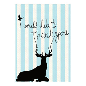 GREETING CARD - THANK YOU DEER