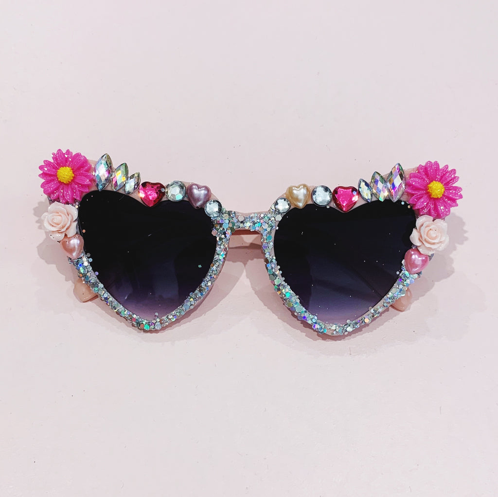 "Bedazzled Sunglasses ""The Mother of all Bling"" - Dark Lenses"