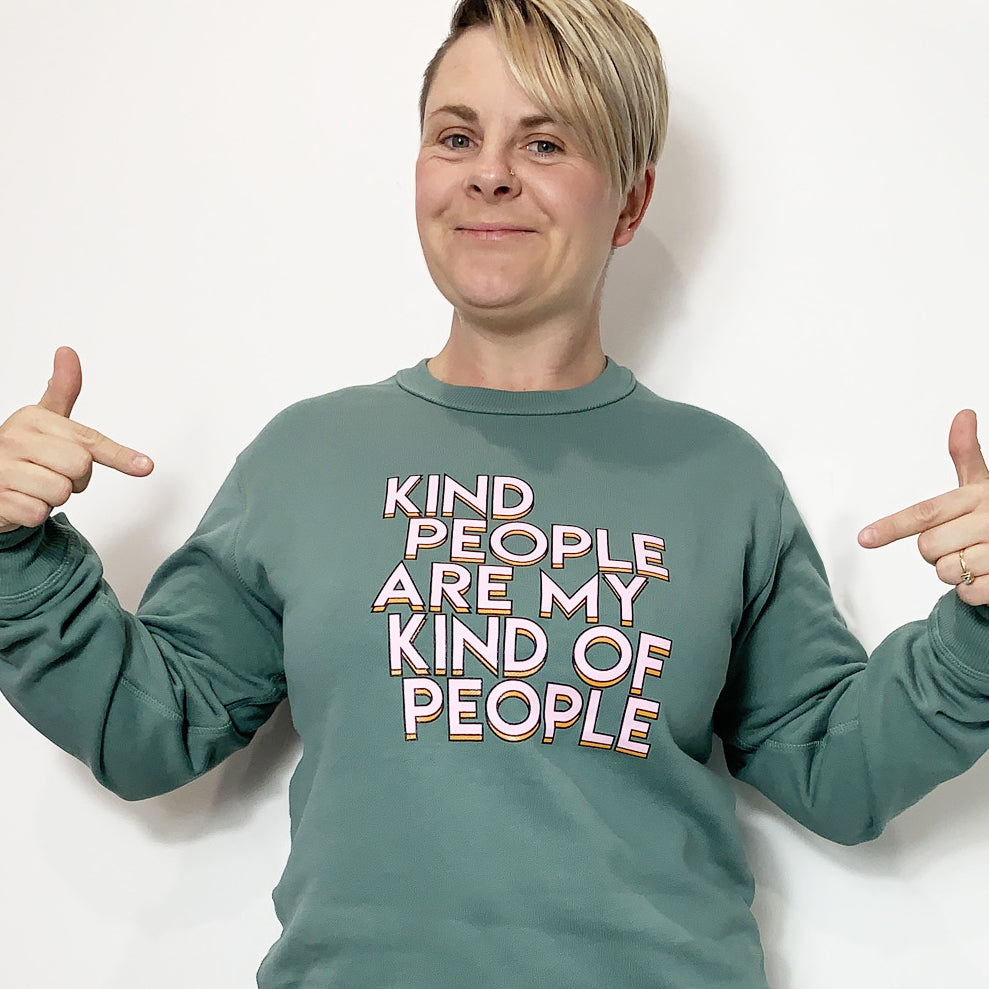 KIND PEOPLE Crew Neck Jumper