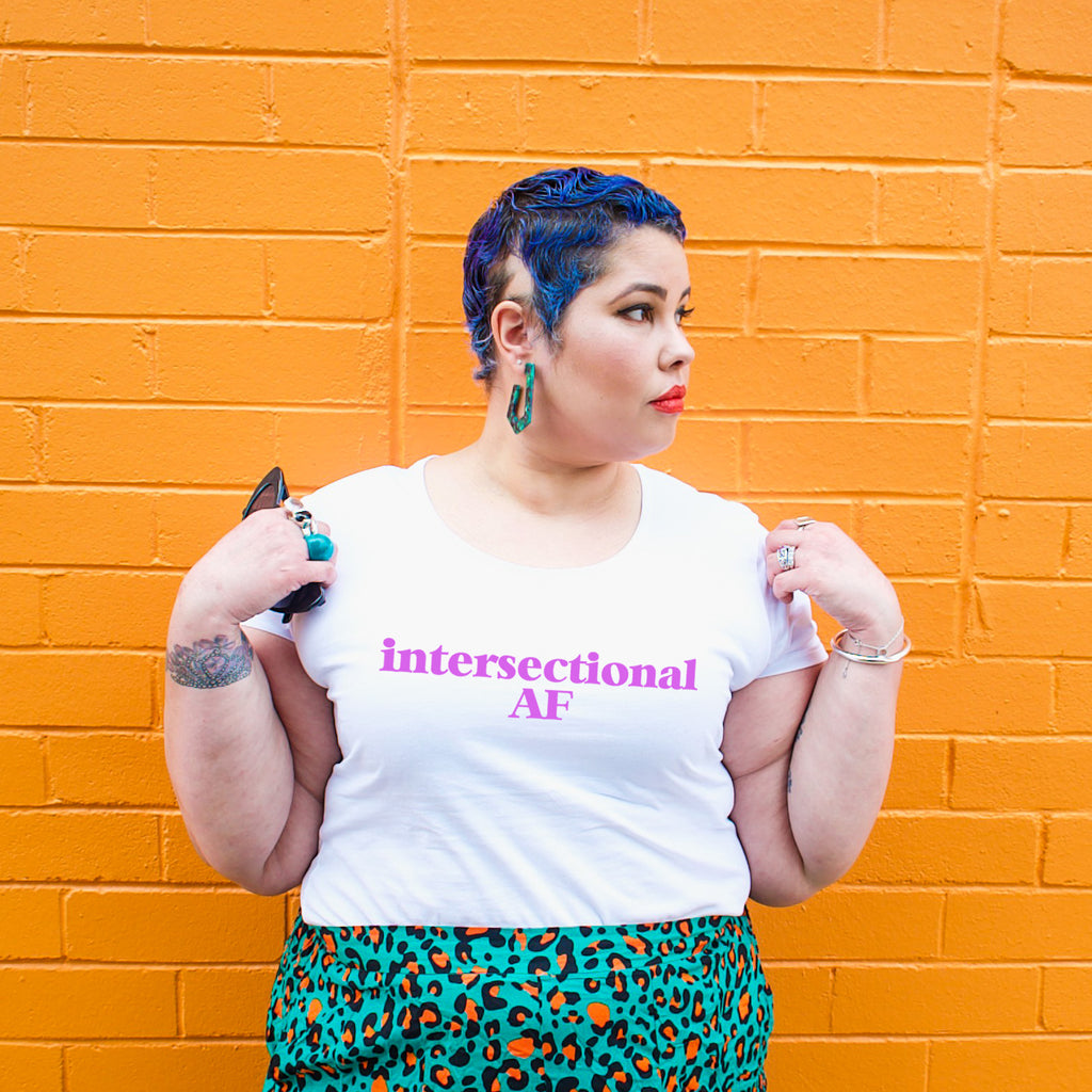 Intersectional AF Scoop T-Shirt