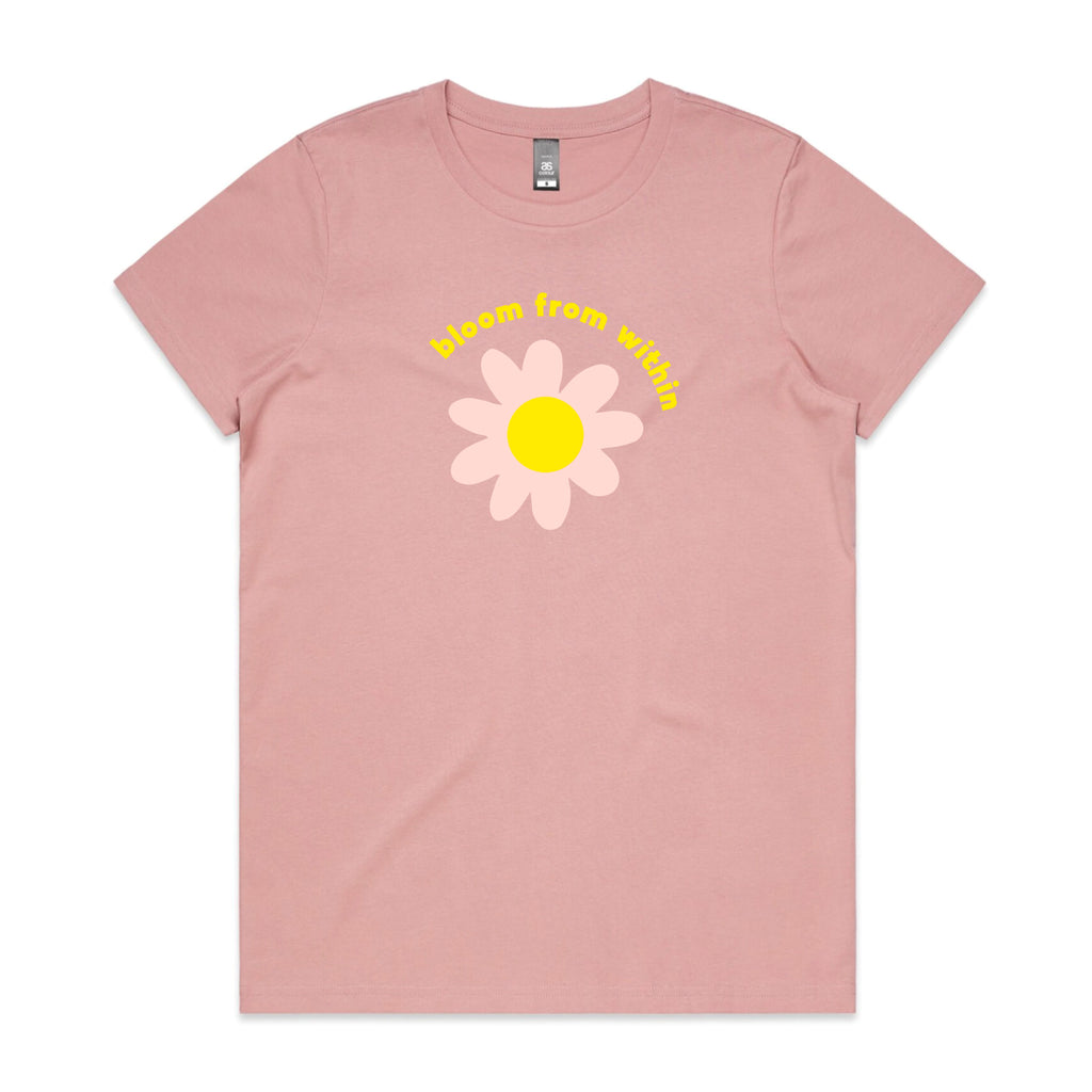 """Bloom from Within"" Rose Women's T-shirt"