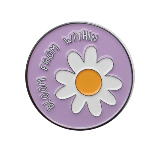 Enamel Pin - Bloom from within