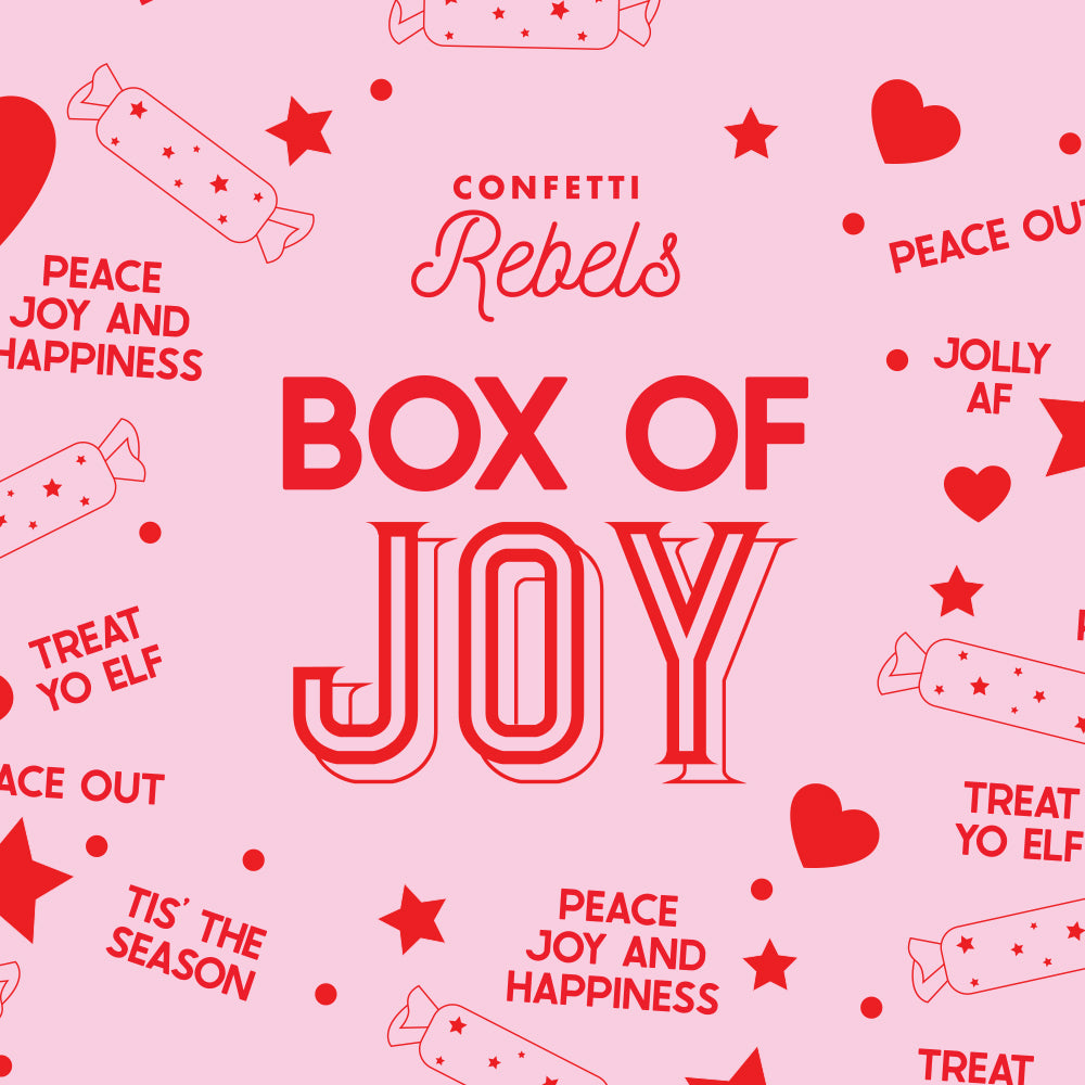 Box of Joy Christmas Hamper - (Mince Pies T-Shirt)