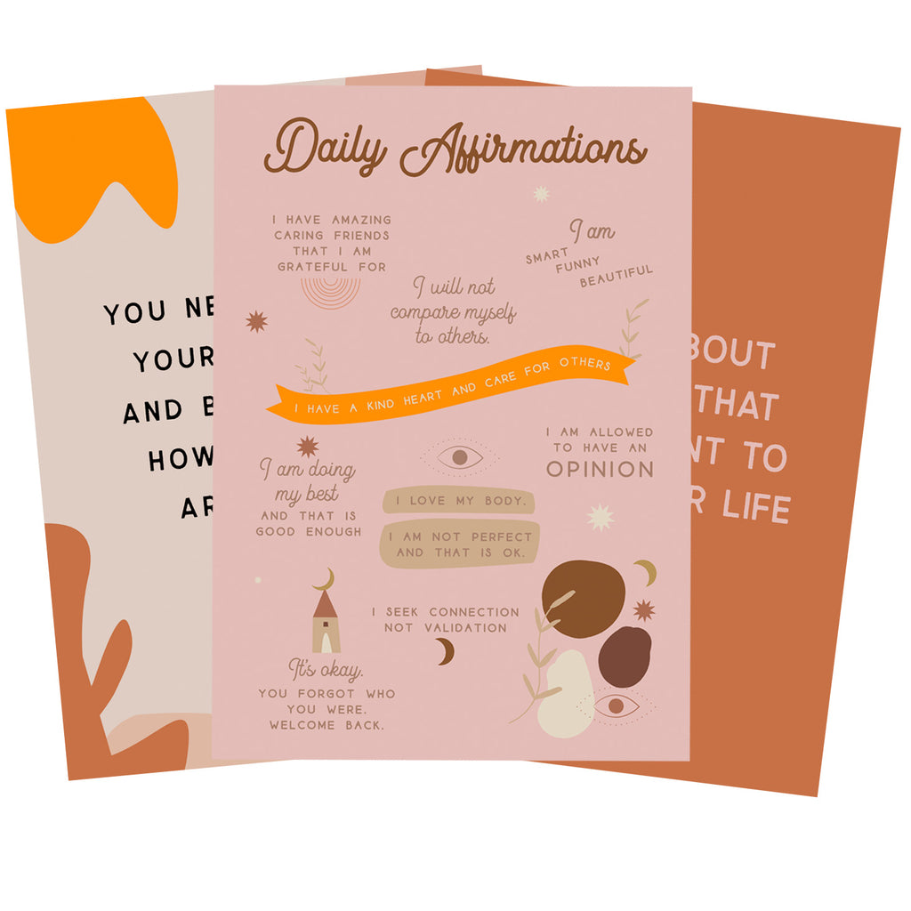 The ultimate self care cards