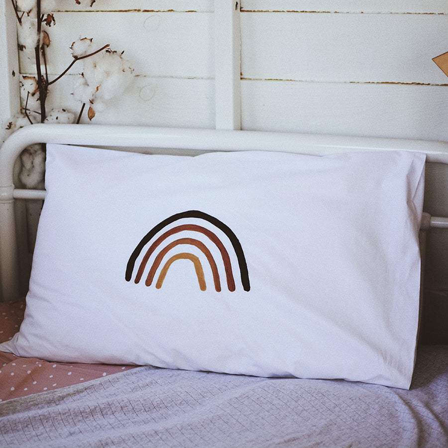 Rainbow Pillowcase - MADE TO ORDER