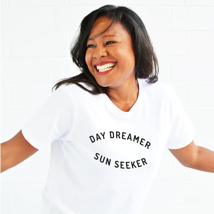 Day Dreamer Sun Seeker Womens T-shirt