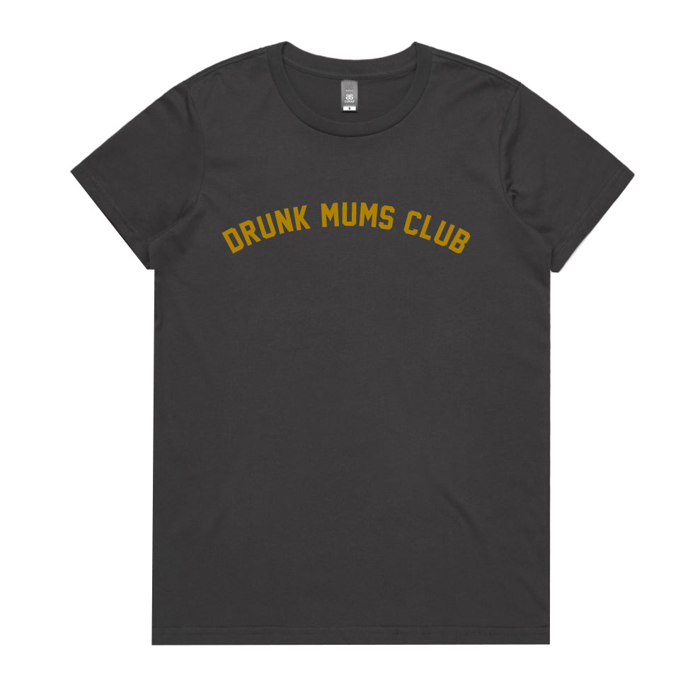Drunk Mums Club Womens T-shirt