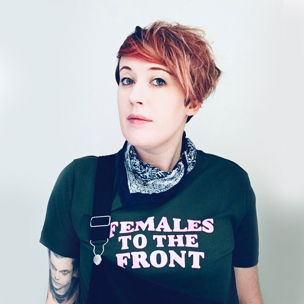 Females to the Front Womens T-shirt