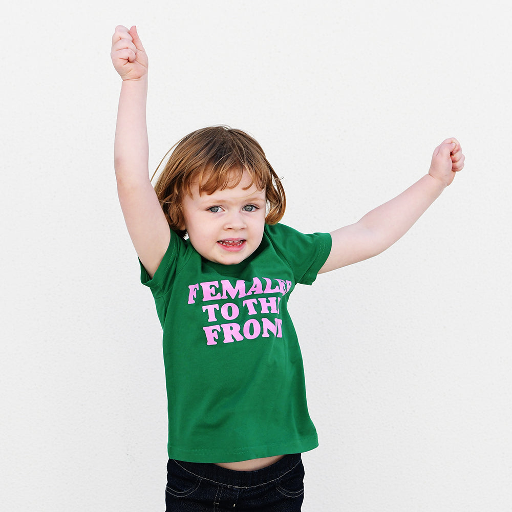 Females to the Front Kids T-Shirt