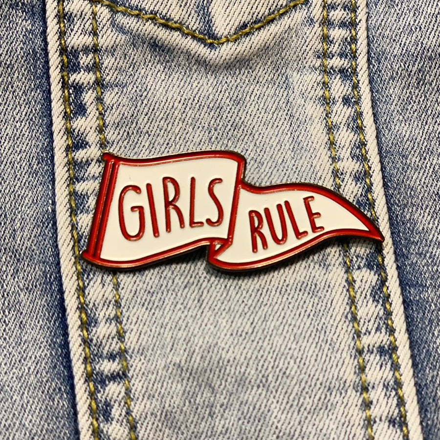 Enamel Pin - Girls Rule