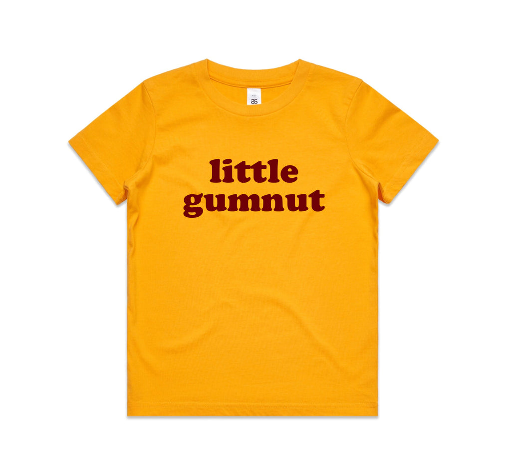 Little Gumnut Yellow Kids Tee