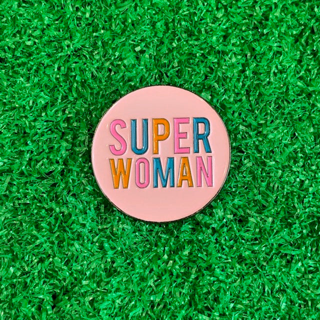 Enamel Pin - Super Woman