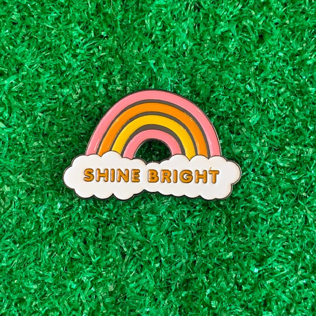 Enamel Pin - Shine Bright