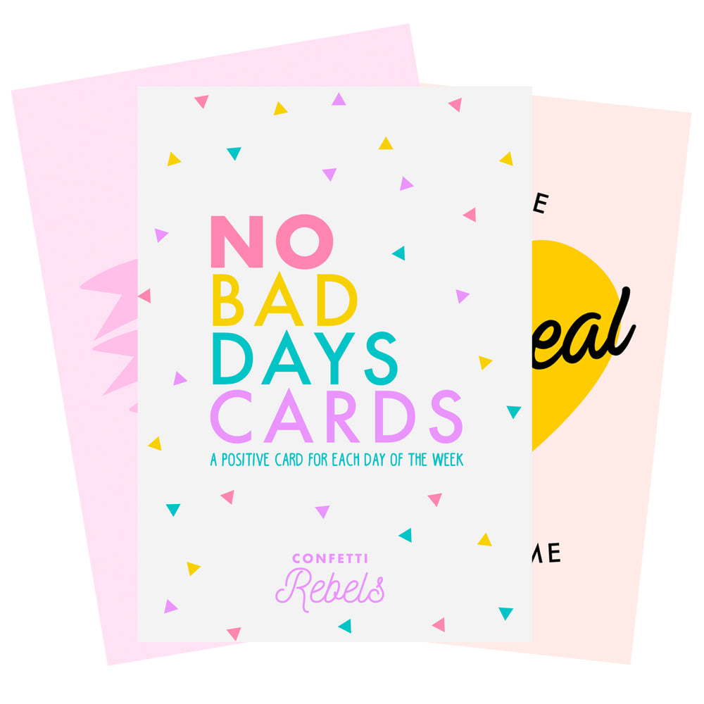 "Pack of ""No Bad Days"" Cards"