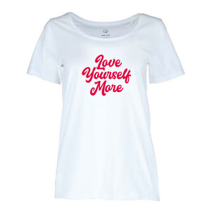♥ LOVE YOURSELF MORE Womens T-Shirt  ♥