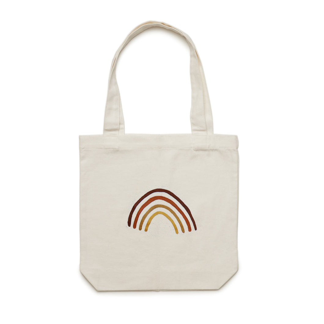 Hand Painted Tote Bag - MADE TO ORDER