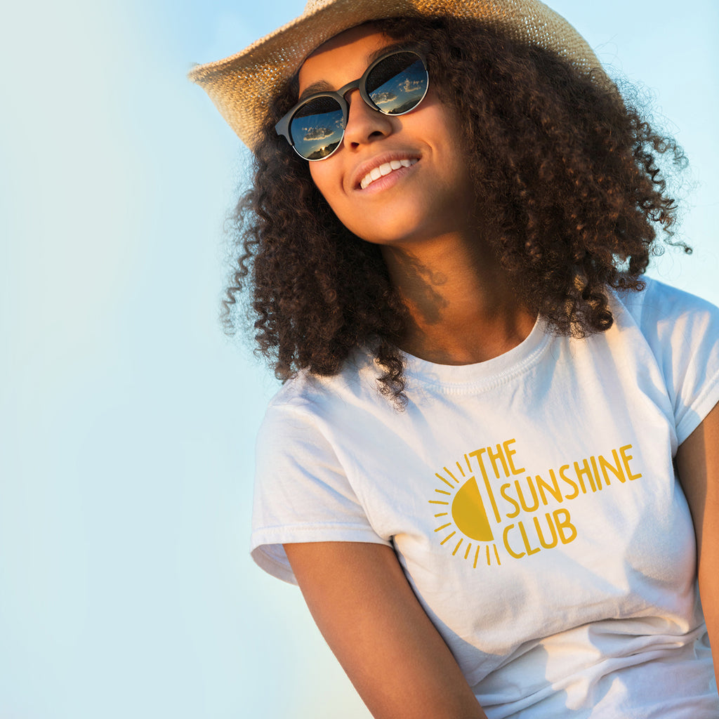 The Sunshine Club Womens T-shirt