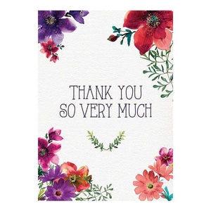 GREETING CARD - THANK YOU SO VERY MUCH