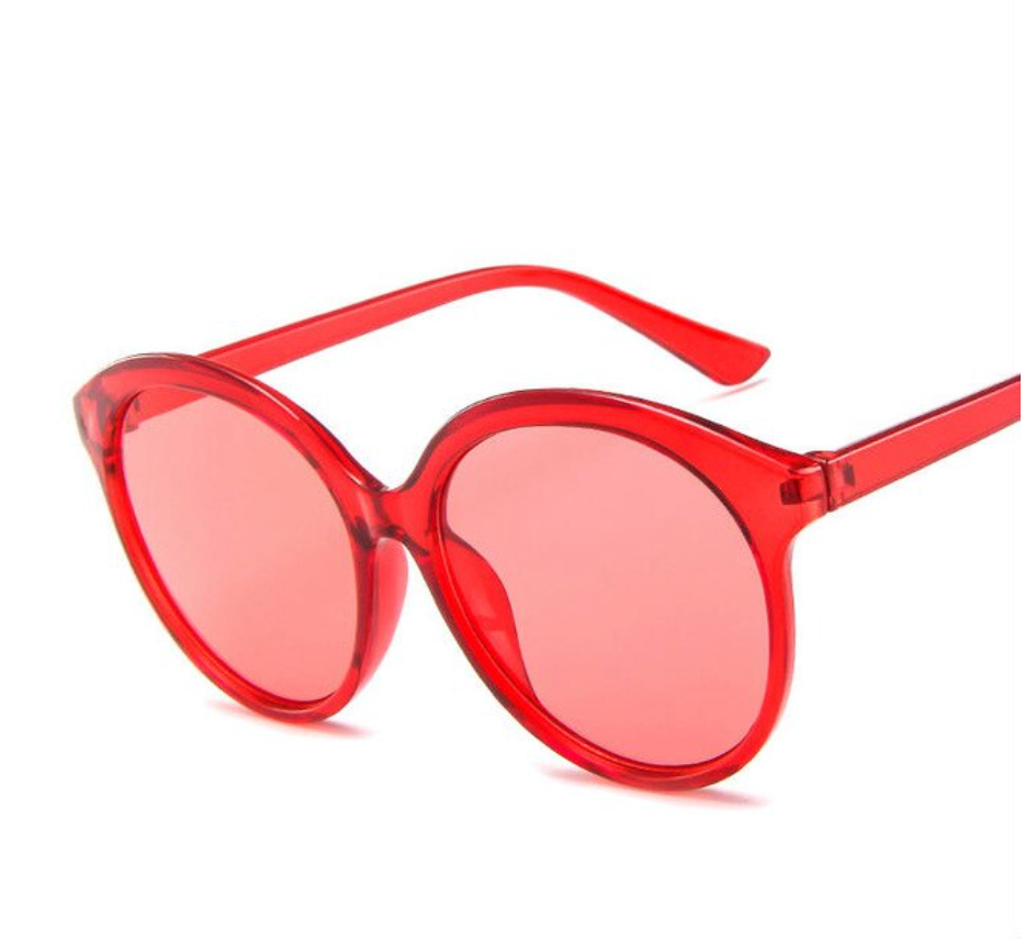 Red Round Sunglasses