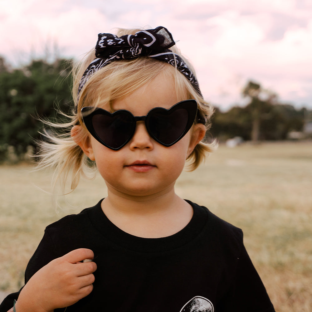 Kids Love Heart Sunglasses