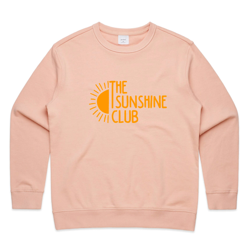 The Sunshine Club Pink Crew Jumper