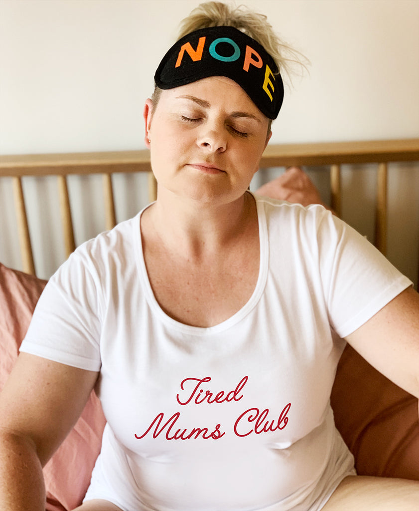 Tired Mums Club Womens T-shirt - SALE