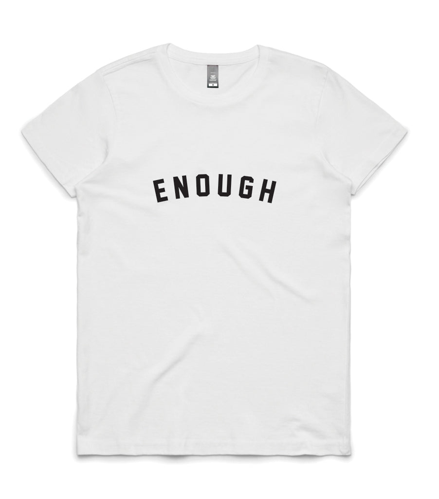 ENOUGH Womens T-shirt - ON SALE
