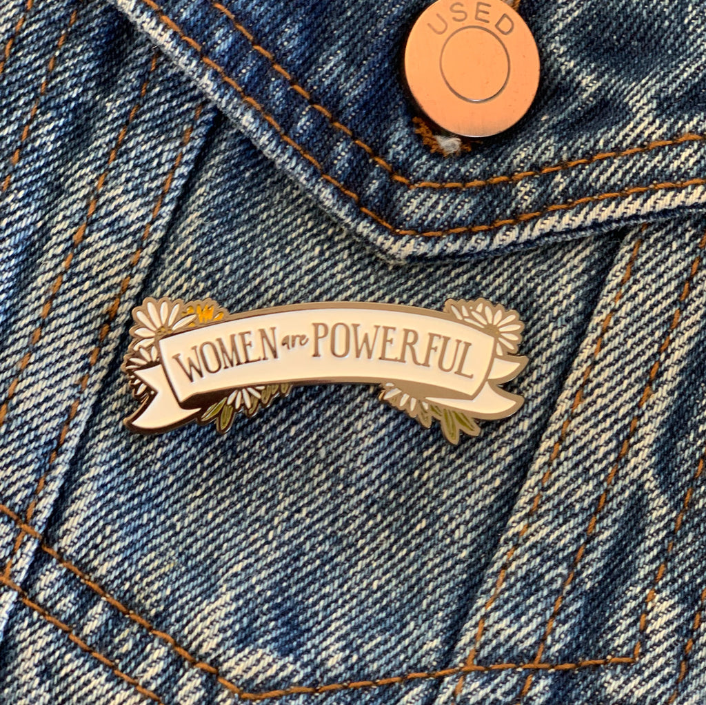 Enamel Pin - Women are Powerful