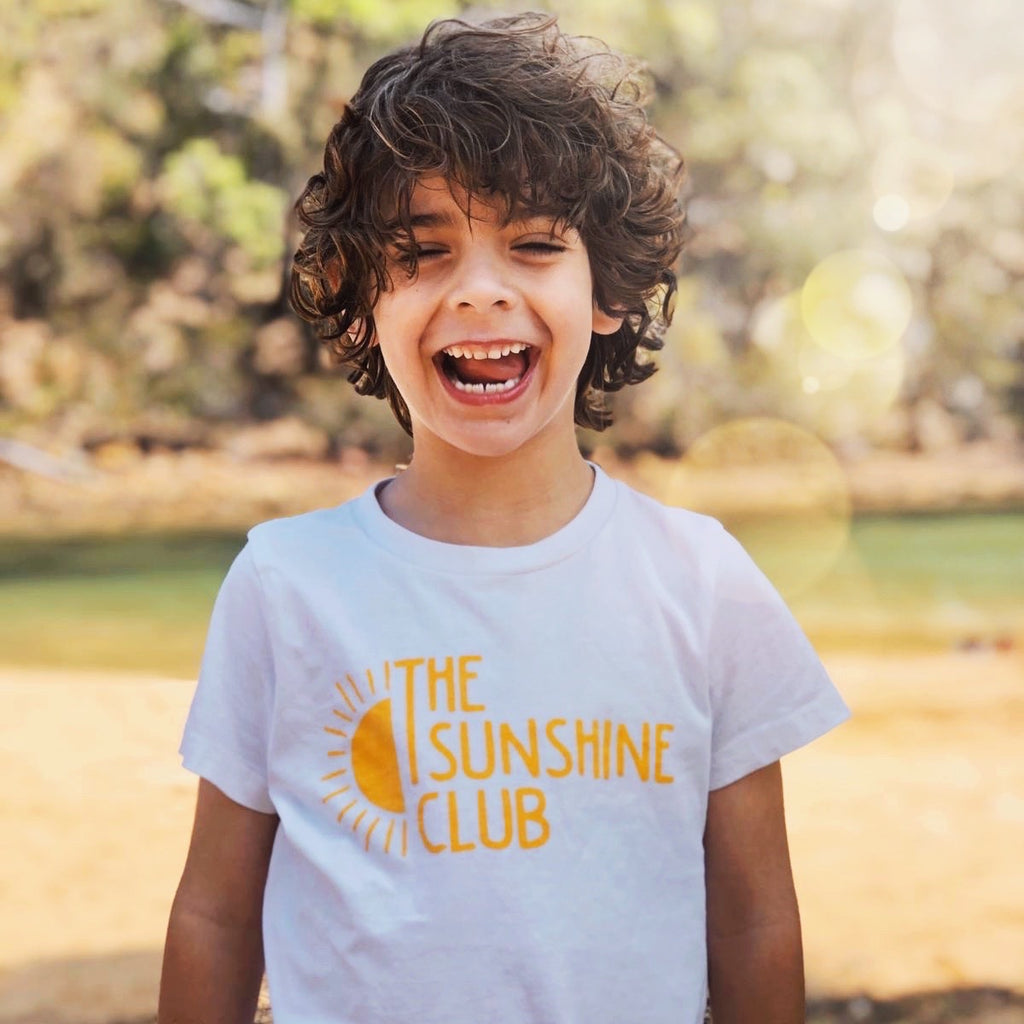 The Sunshine Club Kids Tee