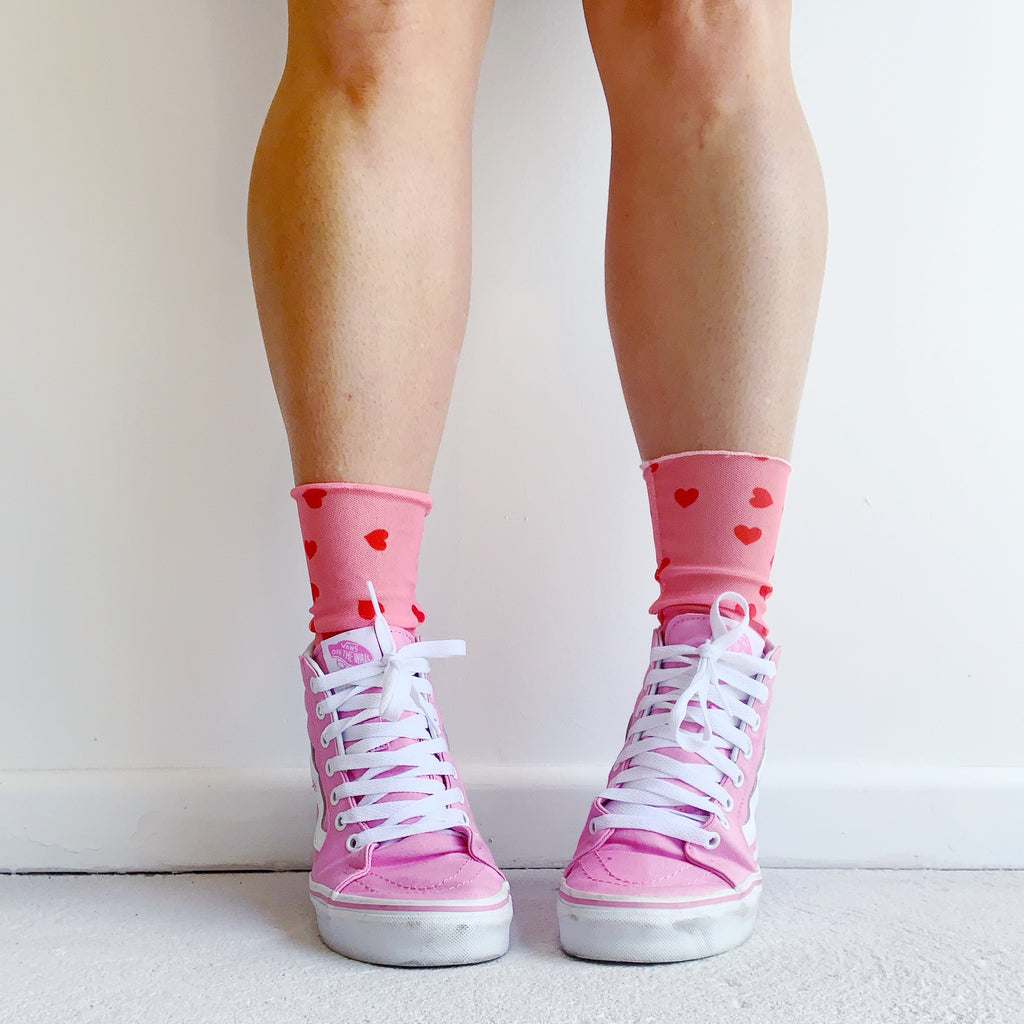 Love Heart Socks - IN STOCK EARLY DECEMBER