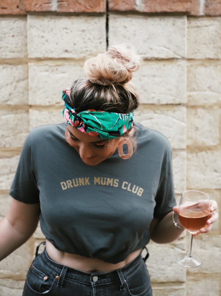 Drunk Mums Club Womens T-shirt - SALE
