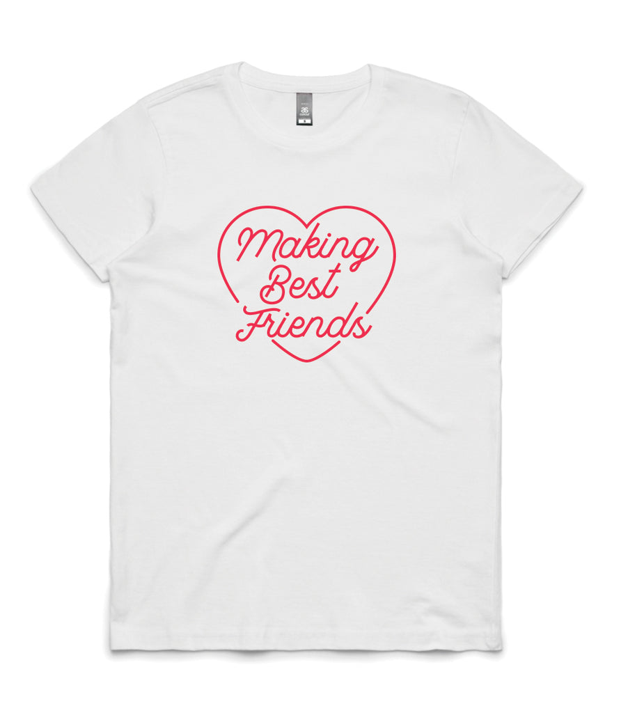 Making Best Friends Womens T-shirt - ON SALE