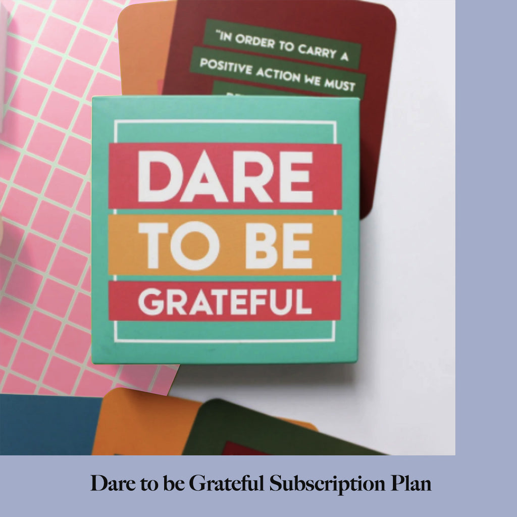 Dare to be Grateful Subscription Plan