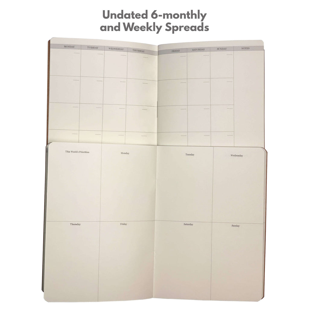 Quest Filler Medium Undated Calendar - bdjplanner