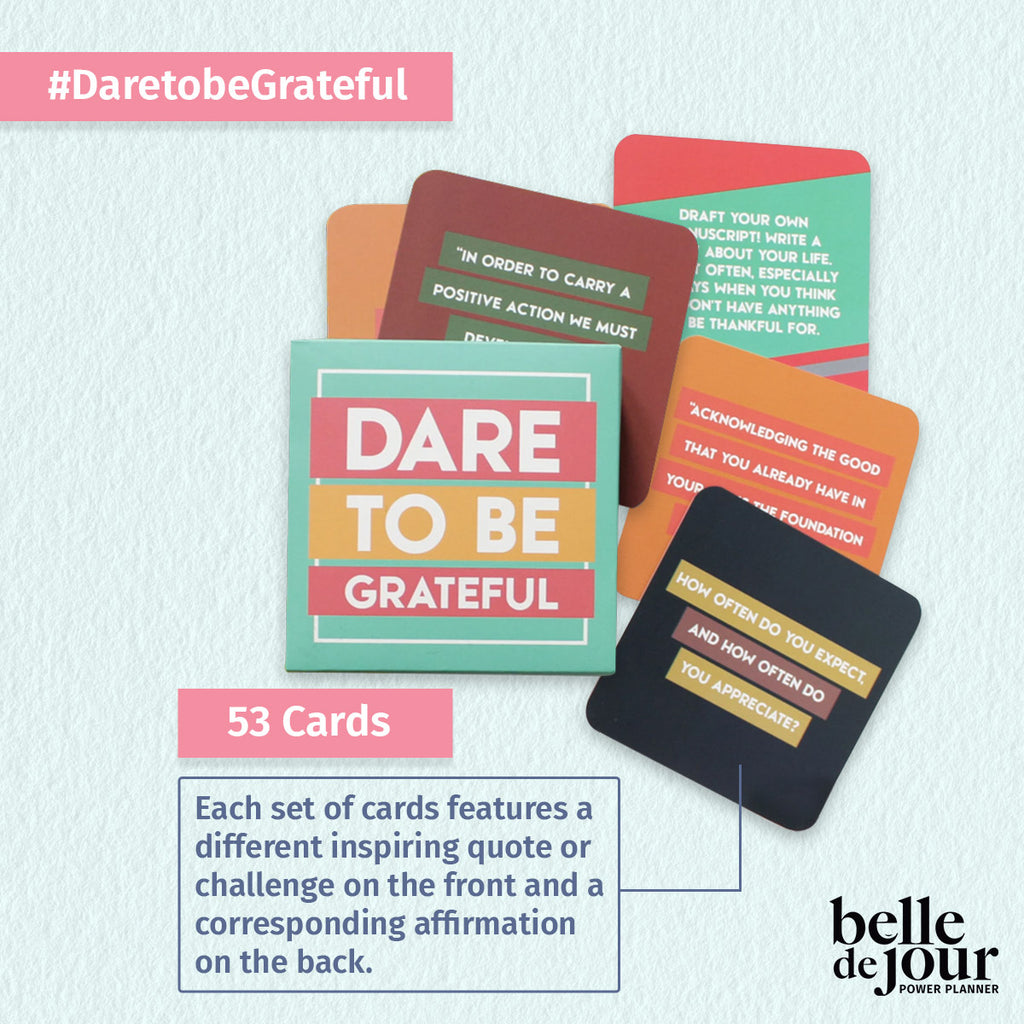 Dare to be grateful cards