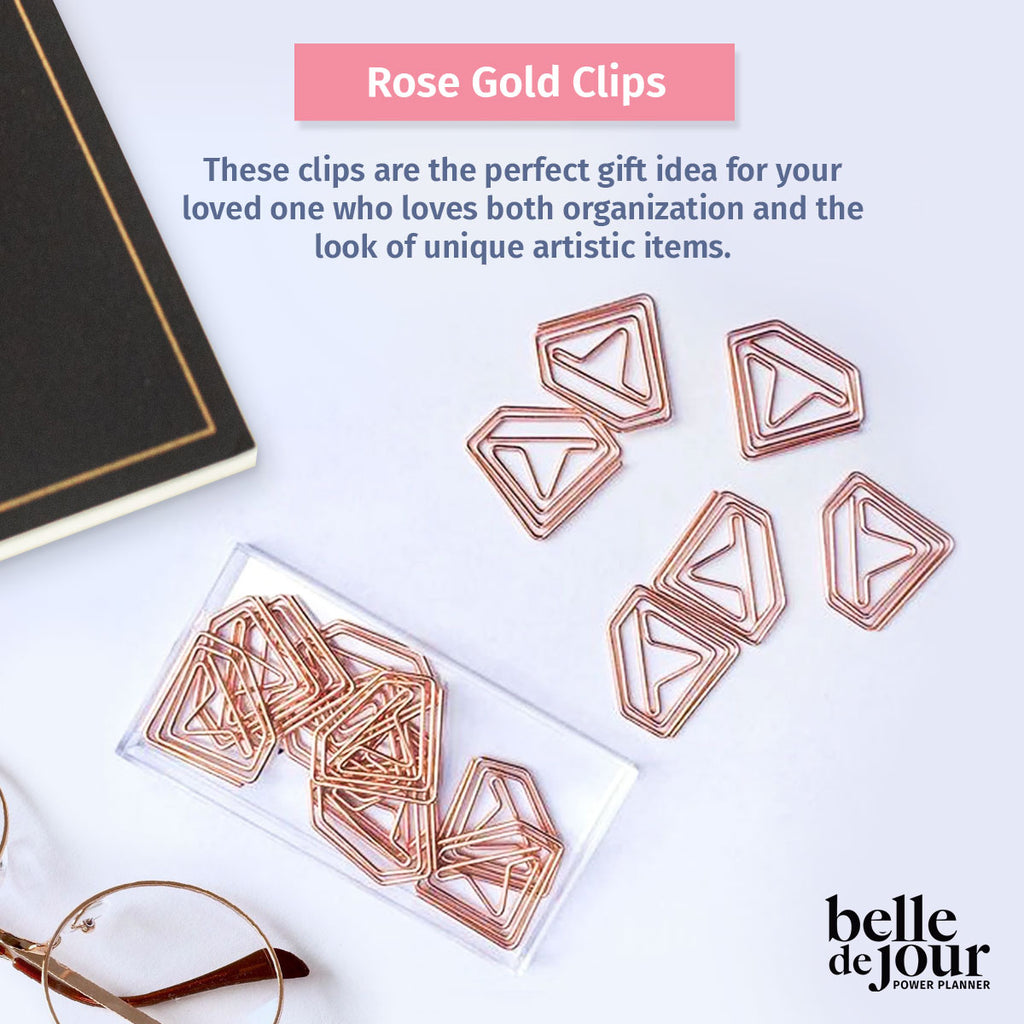 Rose Gold Clips
