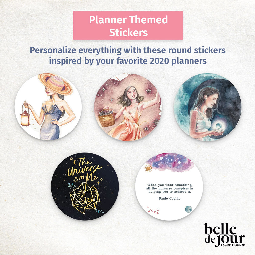 2020 Planner Themed Stickers