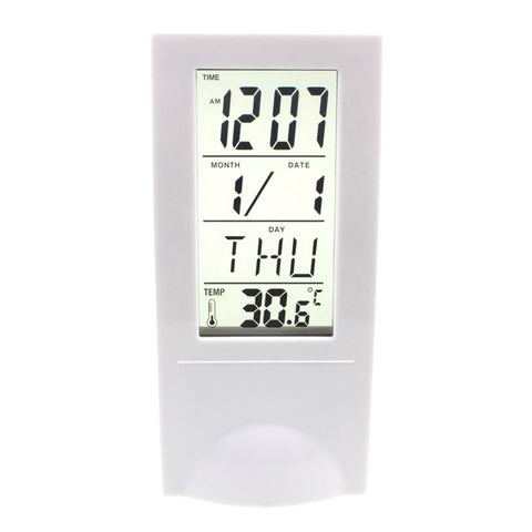 Creative Clocks Frozen Led Clock Despertador Desk Clock Bedside Alarm Clock Electronic Square Watch With Thermometer MDC-05