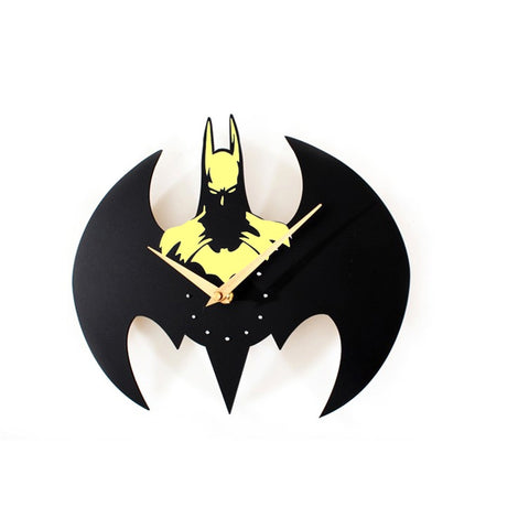 Fashion Batman Wall Clock / Quartz Watch Clocks Batman Modeling