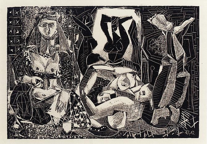 The Lithographs of Picasso