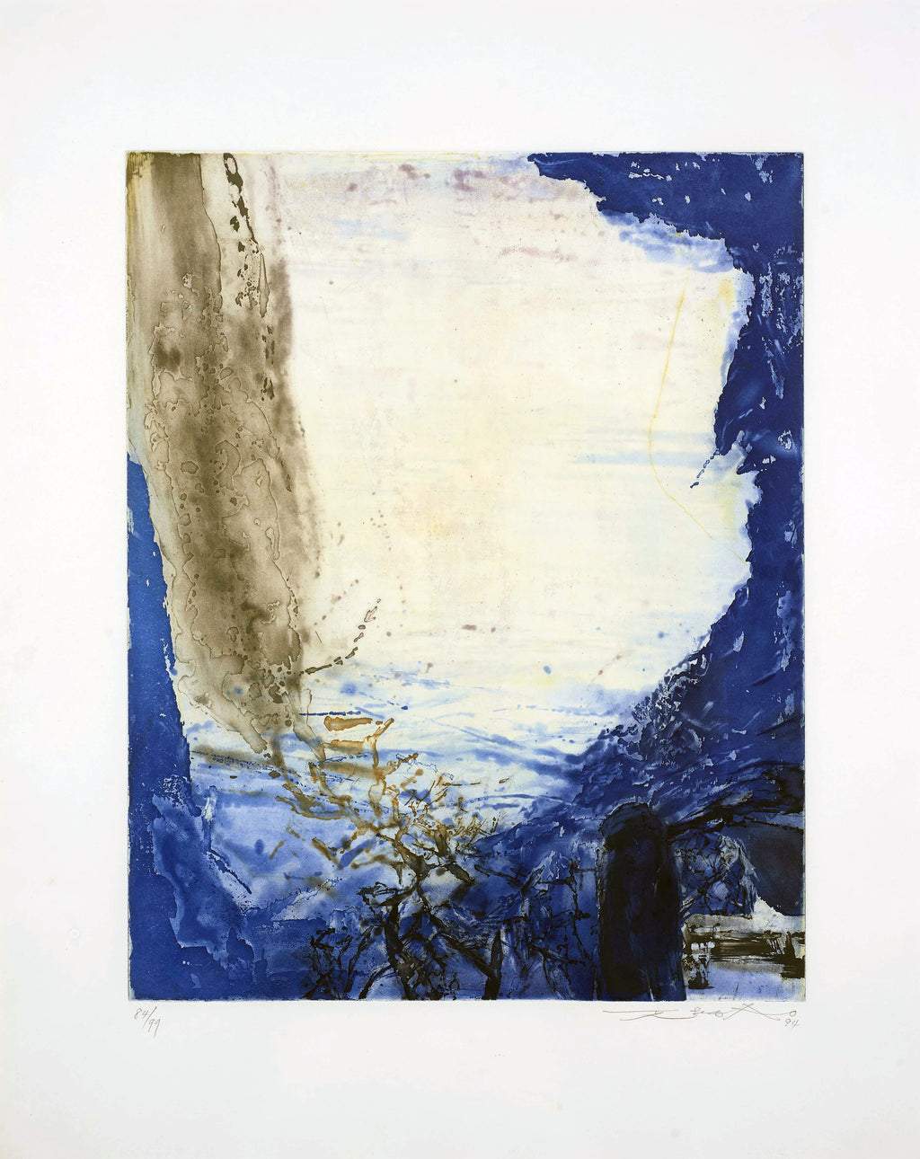 Etching by Zao Wou Ki