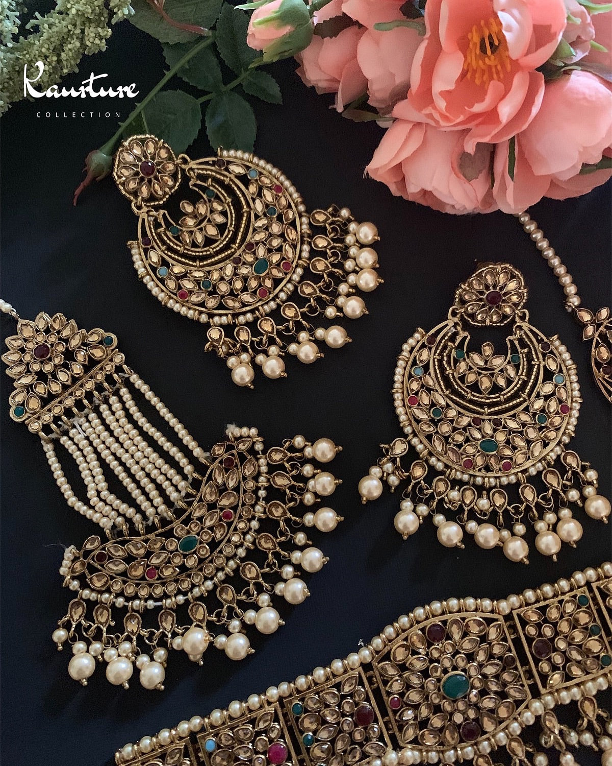 Chandbali Choker Set