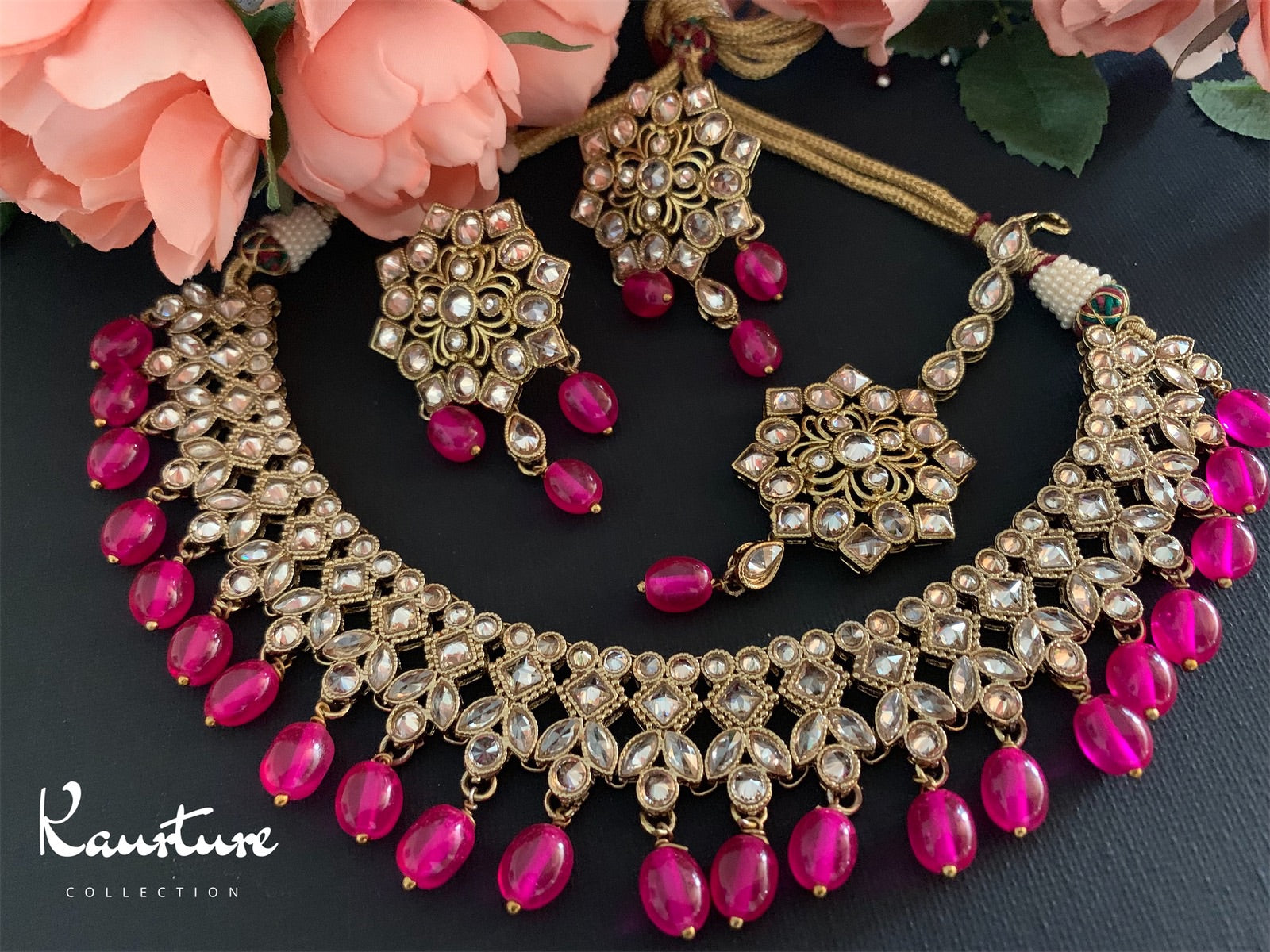 Saba Necklace Set