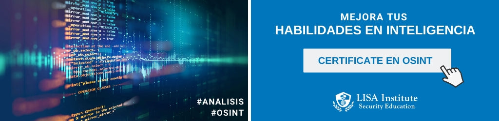 Curso de Inteligencia OSINT - LISA Institute