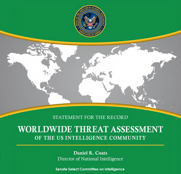 Worldwide threat assestment EEUU