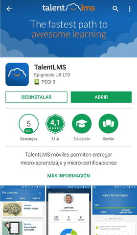 App Talent LMS LISA Institute