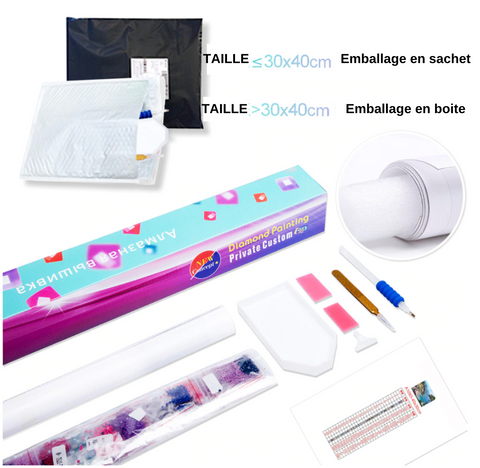 Kit broderie diamant